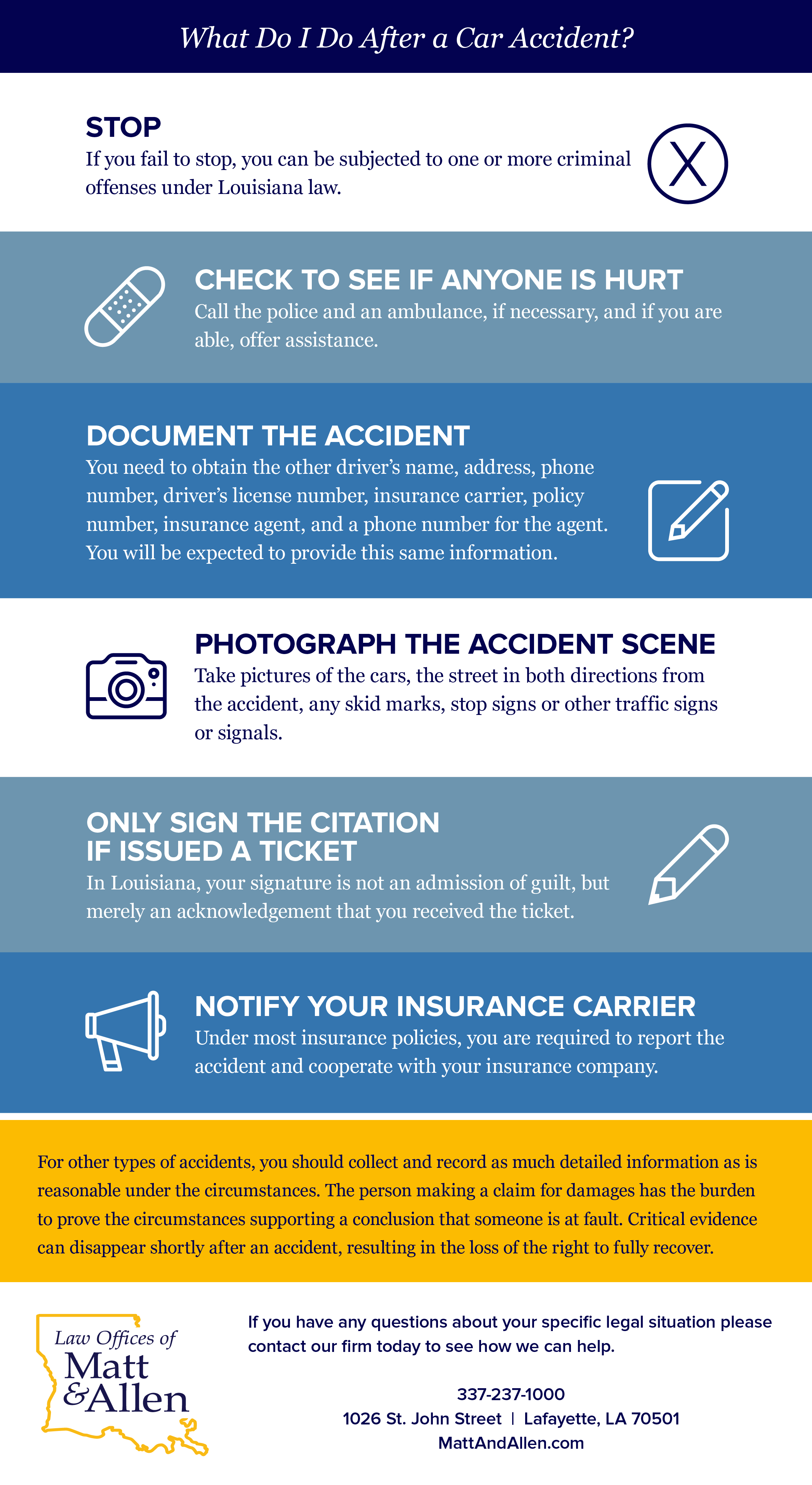 Lafayette-Car-Accident-Steps-Infographic