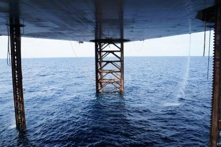 Jackup Oil Rig Offshore